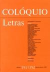 Colóquio/Letras n.º 151/152