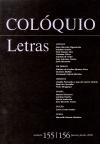 Colóquio/Letras n.º 155/156
